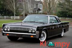 1963 Lincoln Continental four-door luxury