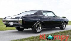 1970 Chevrolet Chevelle Holley Fuel-Injection