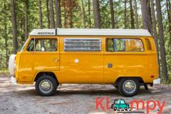 1976 Volkswagen Bus Westfalia Yellow & White