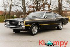1968 Ford Torino GT Raven Black 428 V8 Cruise-O-Matic