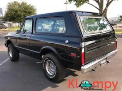 1971 Chevrolet K5 Blazer 350CI V8 Black 3-Speed