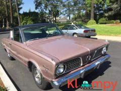 "1966 Plymouth Barracuda Formula S 273 ""Commando"" V8 Mauve Metallic"