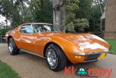 1972 Chevrolet Corvette Numbers-Matching LT1 V8 Orange