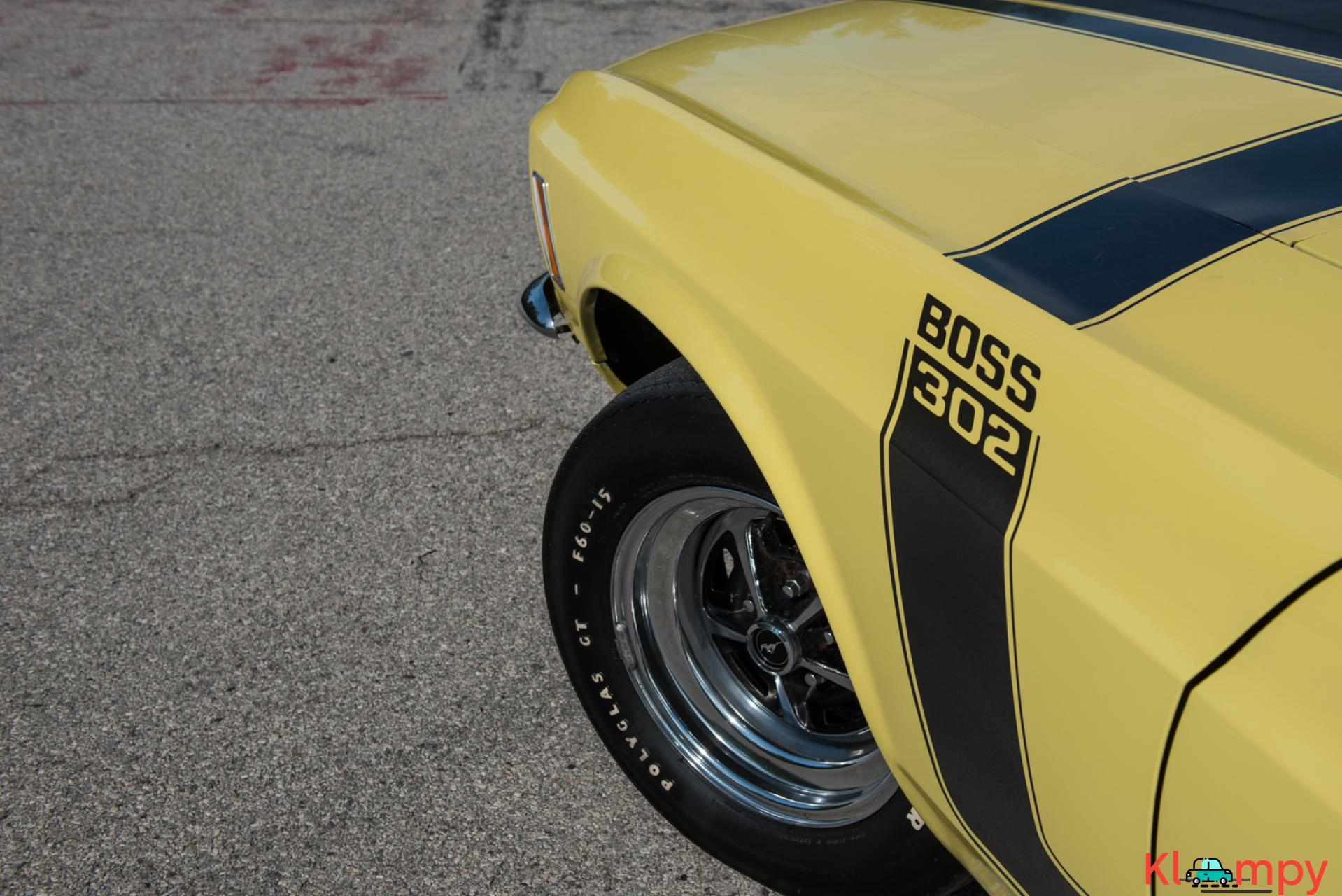 1970 Ford Mustang Boss 302 Largely Original - 15/19