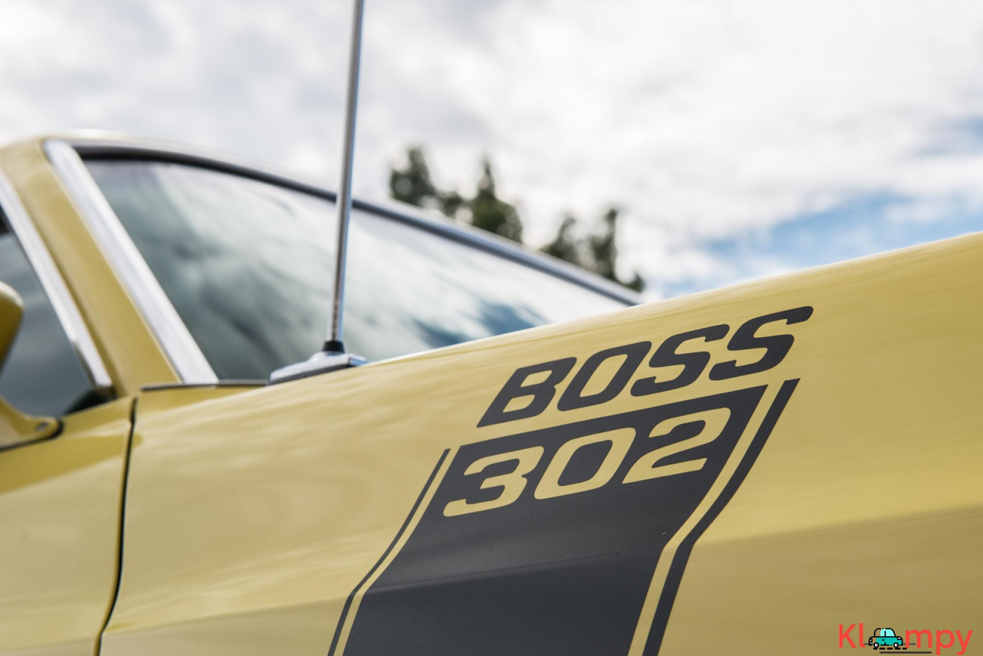 1970 Ford Mustang Boss 302 Largely Original - 16/19