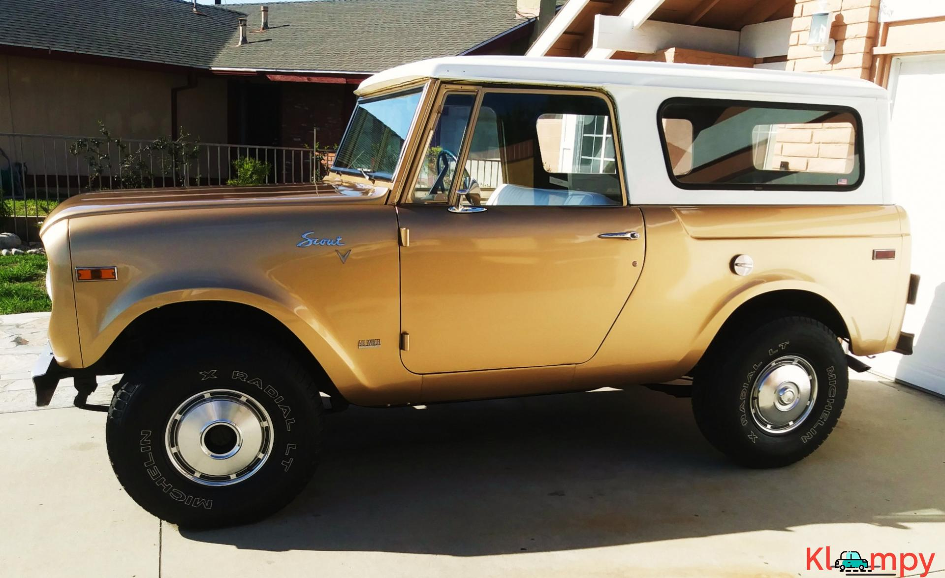 1971 International Harvester Scout 800B Apache Gold Poly 4x4 - 9/14