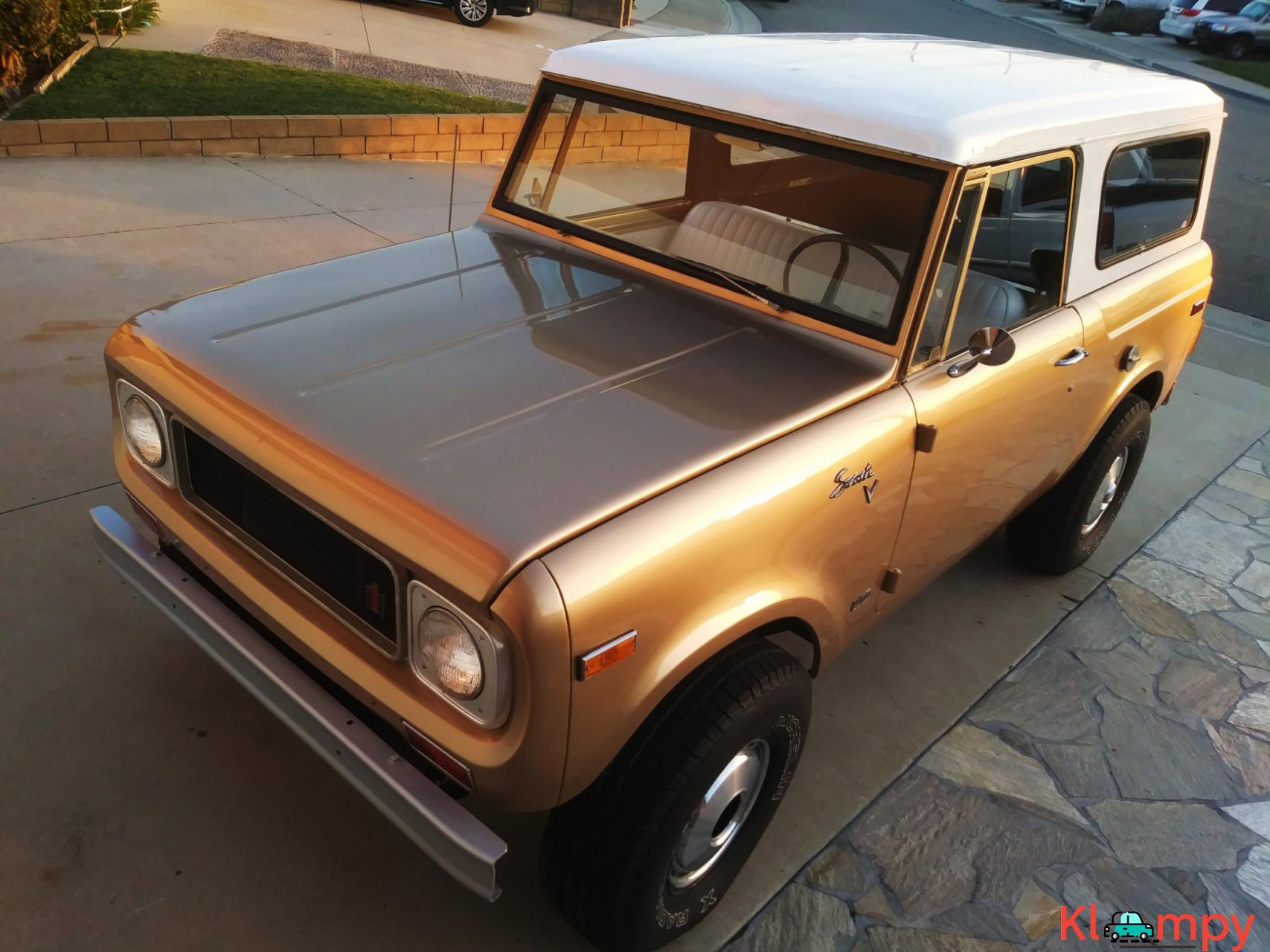 1971 International Harvester Scout 800B Apache Gold Poly 4x4 - 10/14