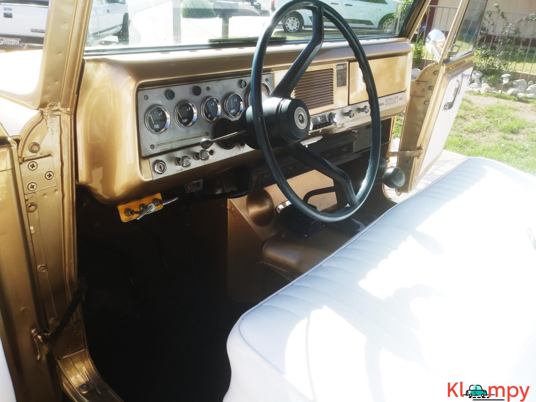 1971 International Harvester Scout 800B Apache Gold Poly 4x4 - 12/14