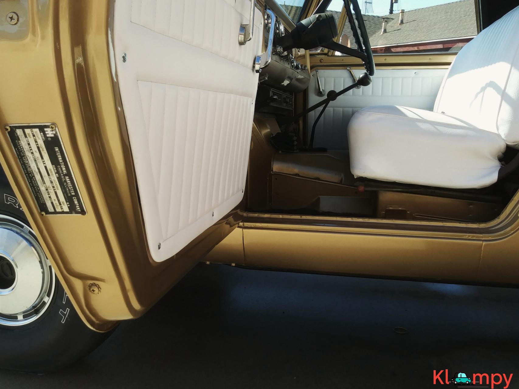 1971 International Harvester Scout 800B Apache Gold Poly 4x4 - 14/14