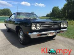 1969 Plymouth Road Runner 4-Speed Hardtop Hemi 426 V8