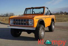 1971 Ford Bronco 4-Speed 302 V8 Orange