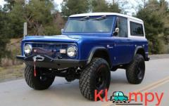 1970 Ford Bronco 5.0-liter V8 Blue