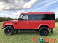 1992 Land Rover Defender 110 Portofino Red 2.5L Turbodiesel