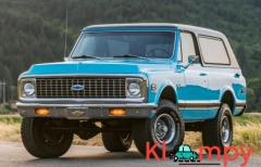 1972 Chevrolet K5 Blazer Hawaiian Blue 4×4 350CI V8