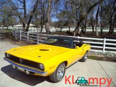 1970 Plymouth Barracuda 340 Numbers-Matching V8 Yellow