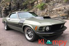 1970 Ford Mustang Pale Green Metallic V8 514CI
