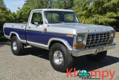 1978 Ford F-150 Ranger 4×4 Short-Box V8 4-Speed