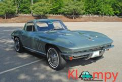 1966 Chevrolet Corvette Coupe 4-Speed Manual L36 V8 Mosport Green