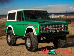 1972 Ford Bronco Metallic Green V8 302CI