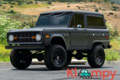 1975 Ford Bronco 5.0L V8 Satin Gray 4×4