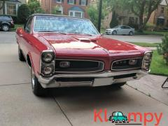 1966 Pontiac GTO Convertible 389 V8 4-Speed Red