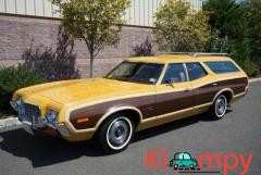 1972 Ford Gran Torino Squire Wagon Medium Yellow Gold 351CI V8