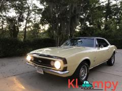 1967 Chevrolet Camaro SS L78 V8 Butternut Yellow 396CI