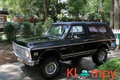 1971 Chevrolet K5 Blazer Black 350CI V8 2-Speed