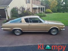 1964 Plymouth Barracuda V8 Gold Metallic 273CI