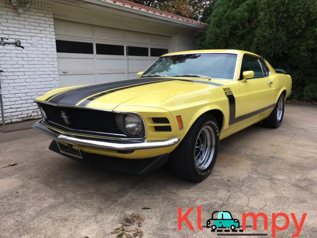 1970 Ford Mustang Boss 302 Largely Original - 1/19