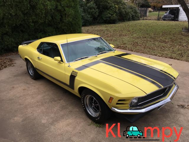 1970 Ford Mustang Boss 302 Largely Original - 2/19