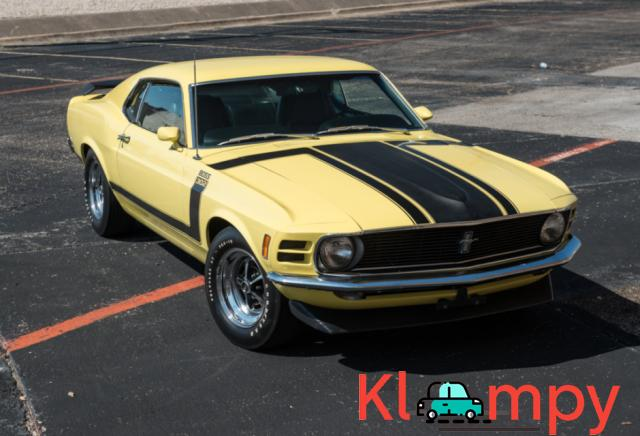 1970 Ford Mustang Boss 302 Largely Original - 3/19