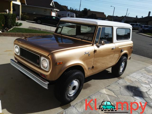1971 International Harvester Scout 800B Apache Gold Poly 4x4 - 1/14