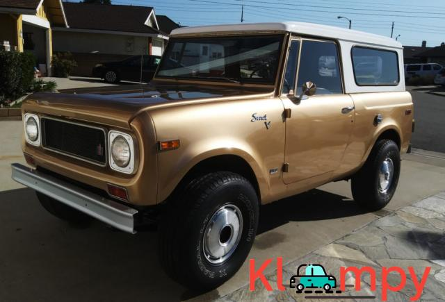 1971 International Harvester Scout 800B Apache Gold Poly 4x4 - 2/14