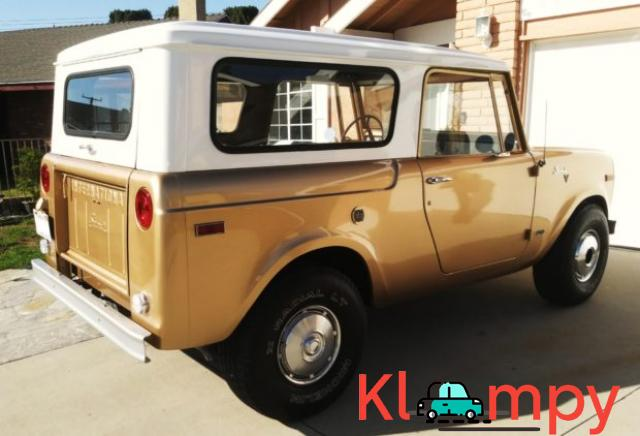 1971 International Harvester Scout 800B Apache Gold Poly 4x4 - 3/14