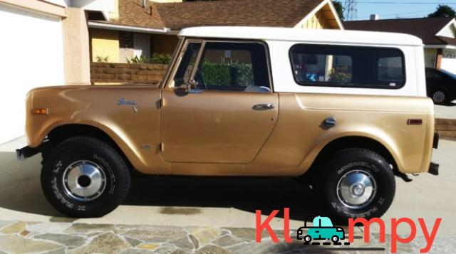 1971 International Harvester Scout 800B Apache Gold Poly 4x4 - 4/14