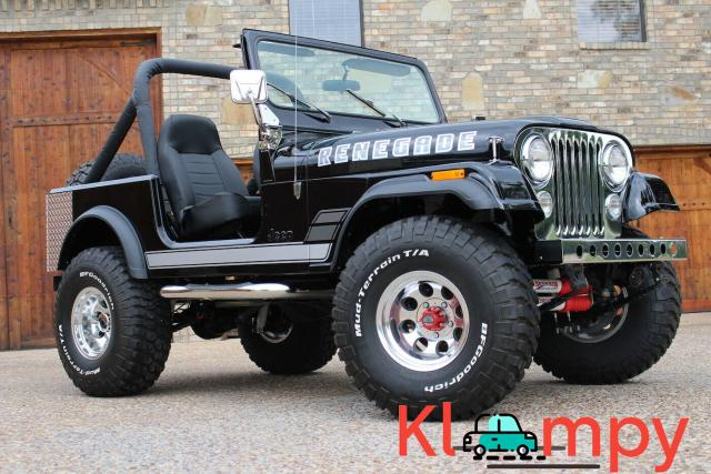 1979 Jeep CJ 7 360 V8 AMC 360 4 SPEED AMC - 1/12