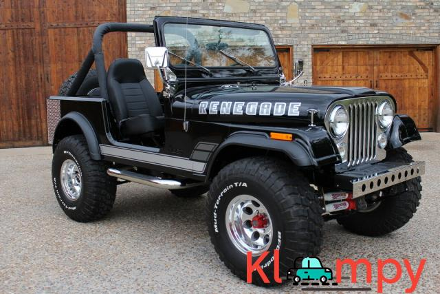 1979 Jeep CJ 7 360 V8 AMC 360 4 SPEED AMC - 2/12