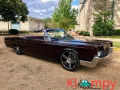 1966 Lincoln Continental Convertible Custom Paint New Interior - Image 1/12