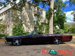 1966 Lincoln Continental Convertible Custom Paint New Interior - Image 2/12