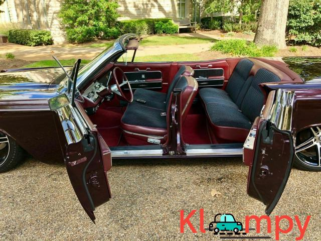 1966 Lincoln Continental Convertible Custom Paint New Interior - 5/12