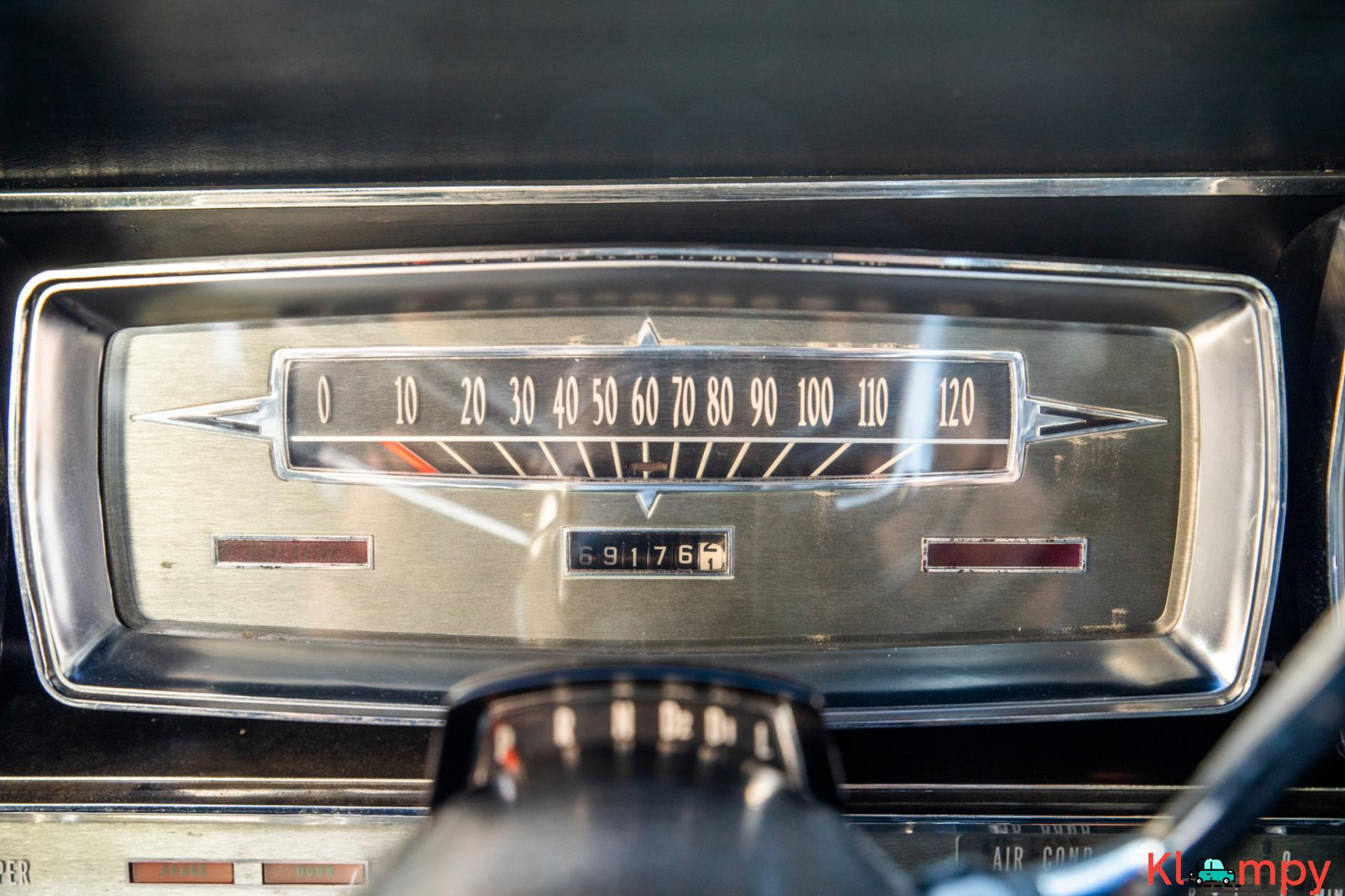 1962 Lincoln Continental Presidential Black - 18/19