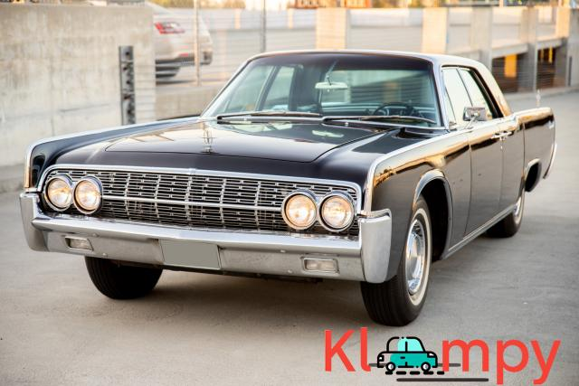 1962 Lincoln Continental Presidential Black - 1/19