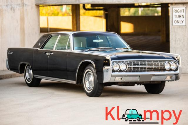 1962 Lincoln Continental Presidential Black - 2/19