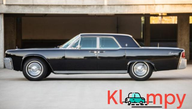 1962 Lincoln Continental Presidential Black - 4/19