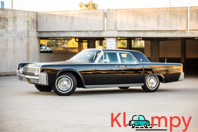 1962 Lincoln Continental Presidential Black - 12/19
