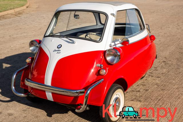 1958 BMW Isetta 300 Red - 1/14