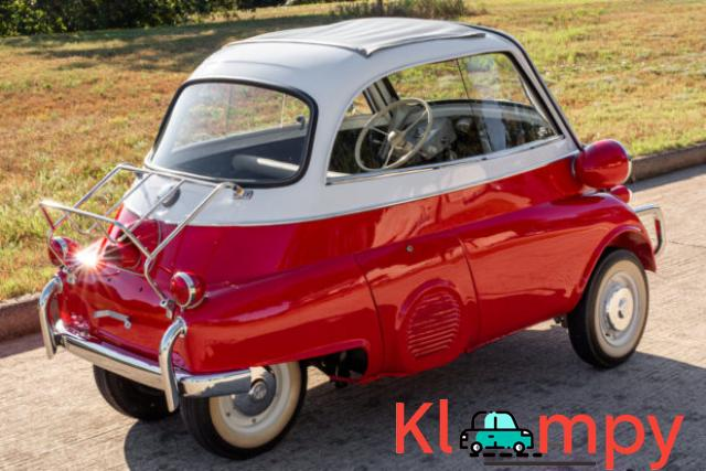 1958 BMW Isetta 300 Red - 2/14