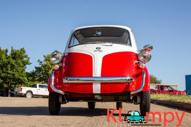1958 BMW Isetta 300 Red - 7/14