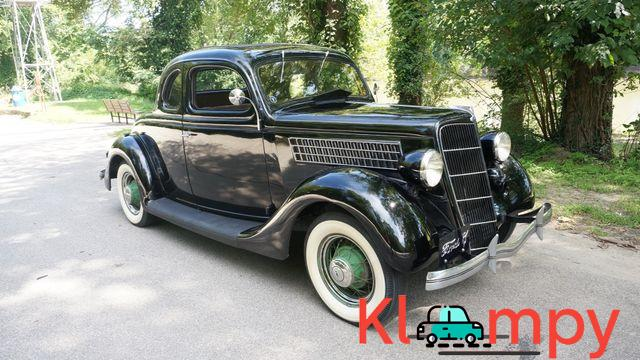 1935 Ford 48 Coupe Rumble Seat - 4/13